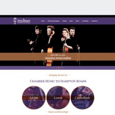 Feldman Chamber Music Society site