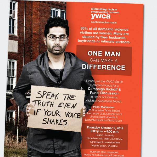 YWCA One Man Campaign