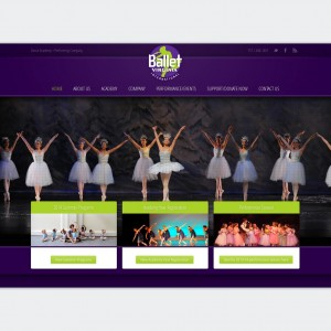 Ballet Virginia website