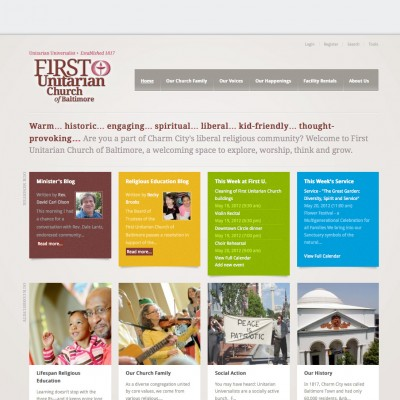 First Unitarian Church of Baltimore website