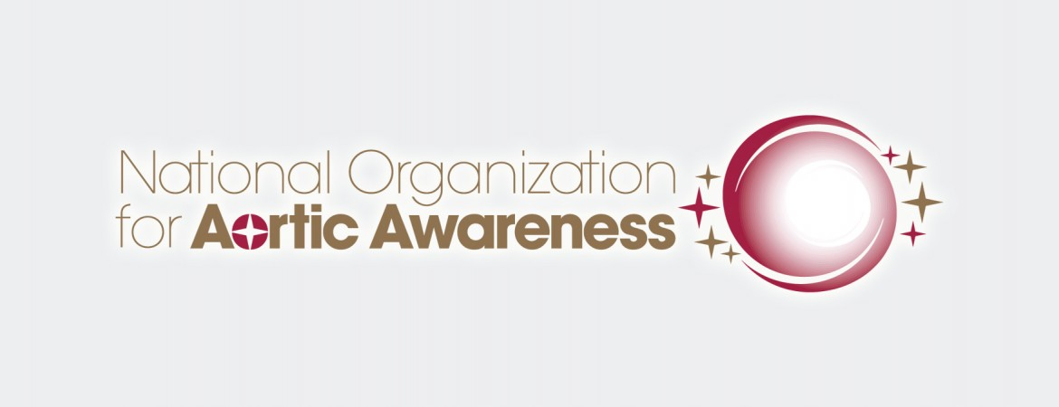 National Organization of Aortic Awareness logo